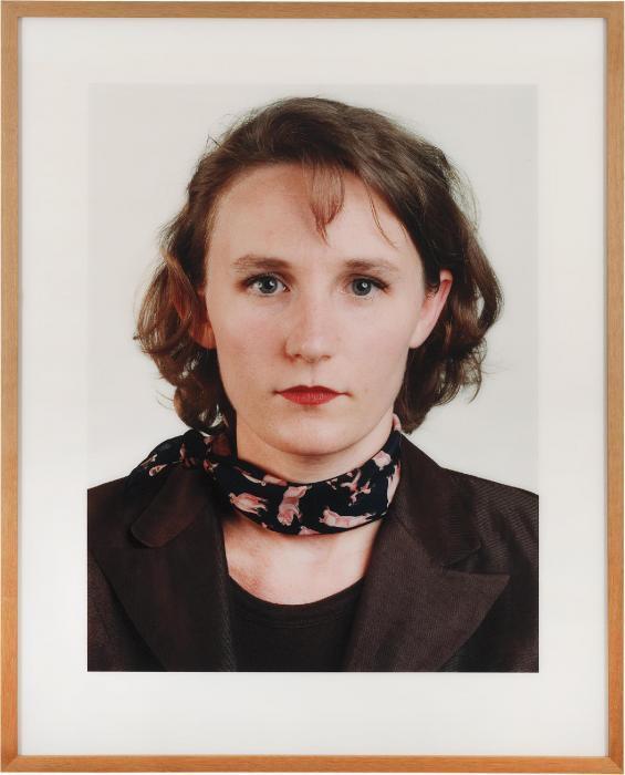 Thomas Ruff-Portrait (V. Lieberman)-1998