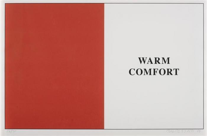 John Baldessari-Warm Comfort from Prima Facie-2006