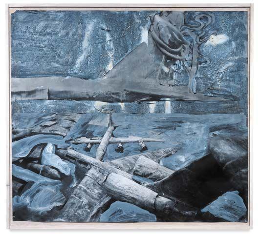 Anselm Kiefer-Laokoon-1989