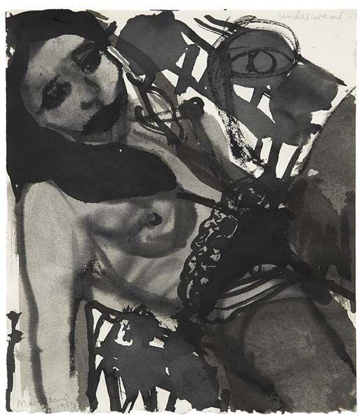 Marlene Dumas-Underwear-1995