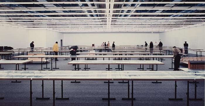 Andreas Gursky-Paris, Centre Pompidou-1995