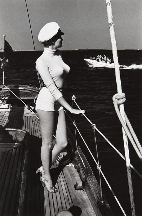 Helmut Newton-Winnie of the Coast of Cannes-1975