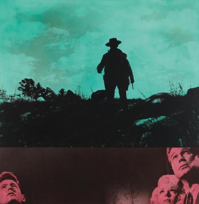 John Baldessari-Green Sunset (with Trouble)-1987