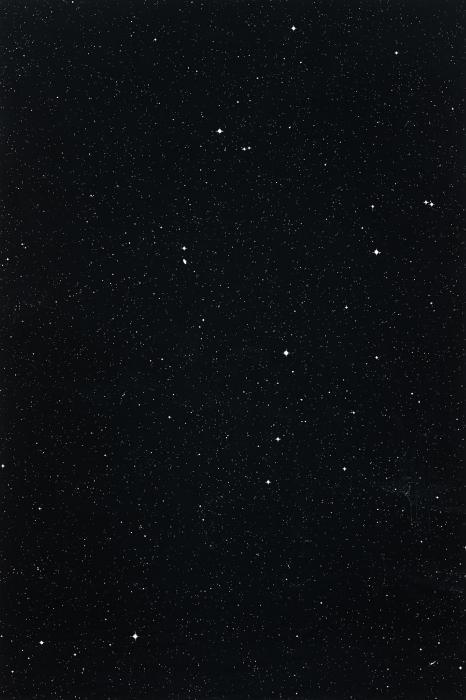 Thomas Ruff-Sterne 23h 39m/-55 degrees-1992