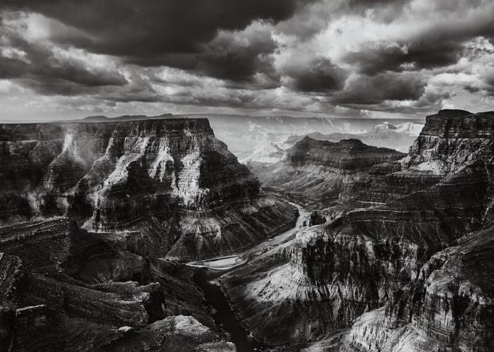 Sebastiao Salgado-Confuence of the Colorado and Little Colorado Rivers, Arizona-2010