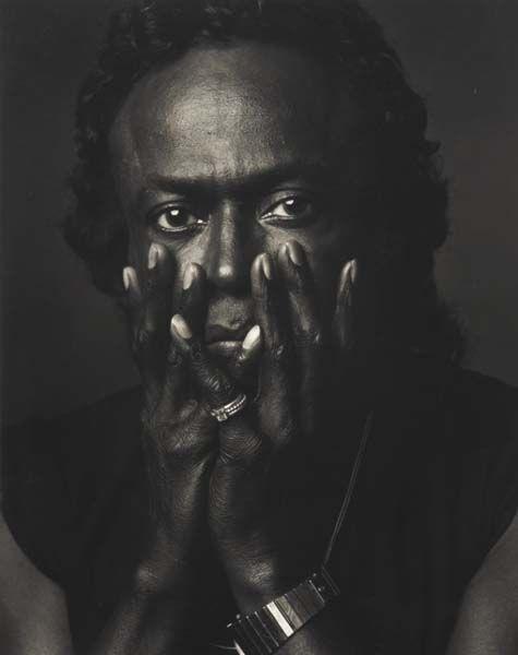 Annie Leibovitz-Miles Davis, Los Angeles-1989