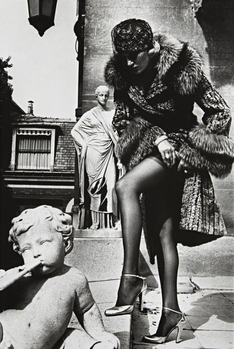 Helmut Newton-Fashion Photograph, Paris (1976)-1976