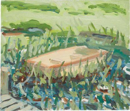 Alex Katz-Coleman Pond-1961