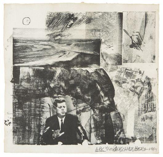Robert Rauschenberg-Robert Rauschenberg - Ark and The Divine Comedy-1964