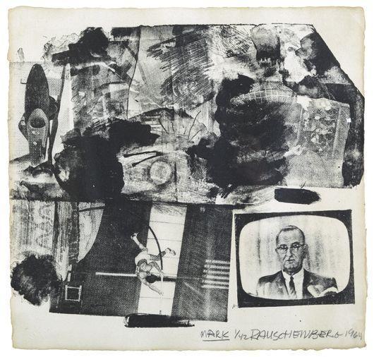 Robert Rauschenberg-Robert Rauschenberg - Mark/The Divine Comedy-1964