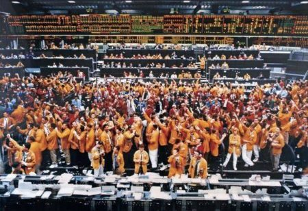Andreas Gursky-Chicago Mercantile Exchange-1997