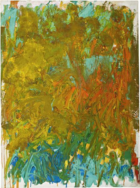 Joan Mitchell-Untitled-1981