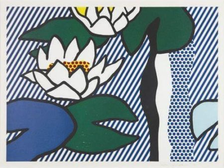 Roy Lichtenstein-Les nympheas-1993
