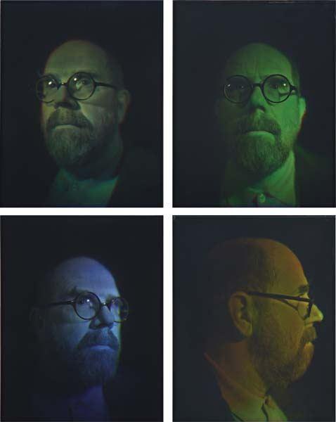 Chuck Close-Self-Portrait-2004