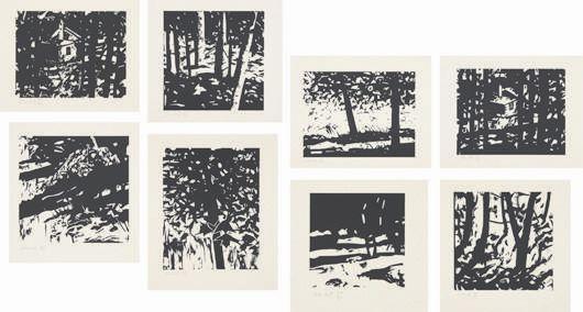 Alex Katz-Maine Landscapes-2001