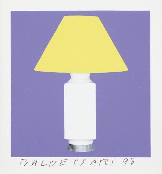 John Baldessari-8 Lamps x 6 = 48, One plate-1998