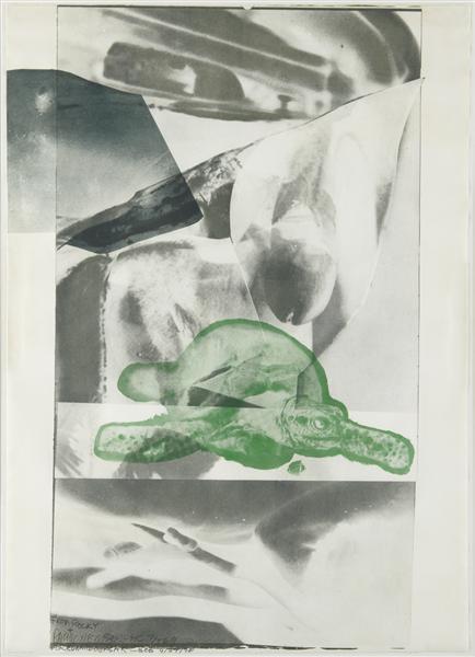 Robert Rauschenberg-Robert Rauschenberg - Gulf-1969