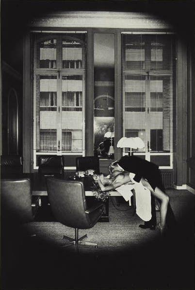 Helmut Newton-Office Love, Paris-1977