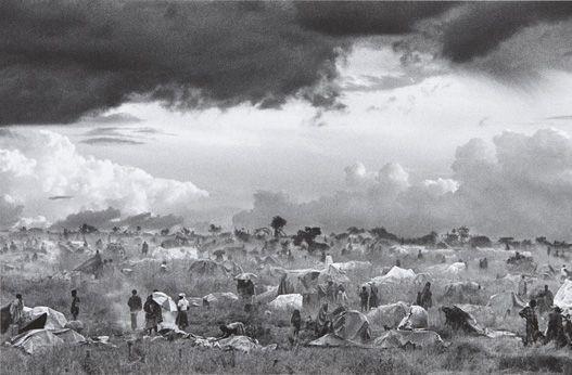 Sebastiao Salgado-The First Day of Installation of the Camp of Benako for the Rwandan Tutsi and Hutu Refugees, Tanzania-1994
