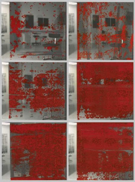Gerhard Richter-Self Portrait Standing, Three Times-1991
