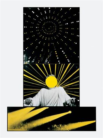 John Baldessari-Three Types of Light-1988
