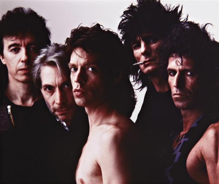 Annie Leibovitz-The Rolling Stones, New York-1985