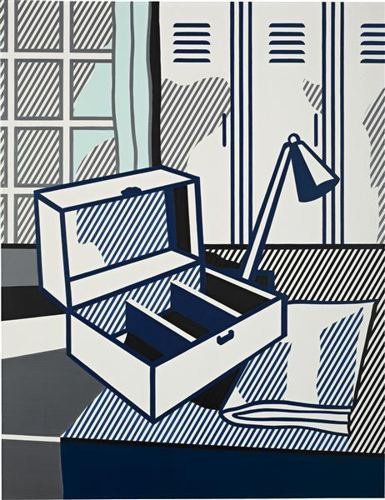 Roy Lichtenstein-Still Life with Cash Box-1976