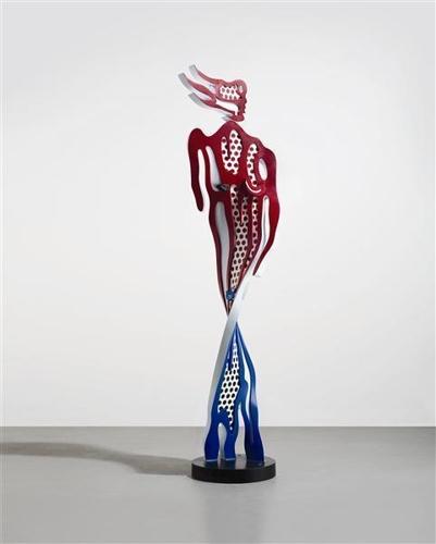 Roy Lichtenstein-Brushstroke Nude-1993