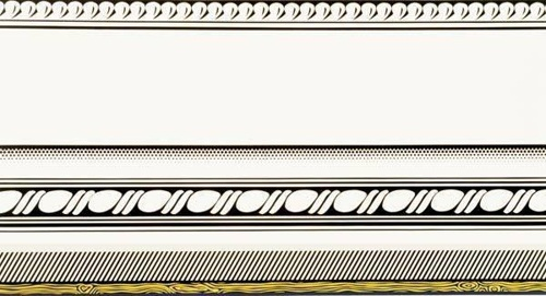 Roy Lichtenstein-Entablature-1974