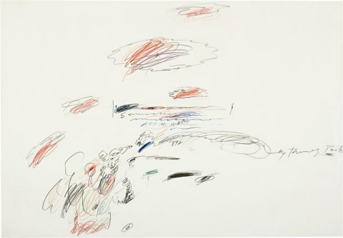 Cy Twombly-Untitled (Paris, May 1963)-1963