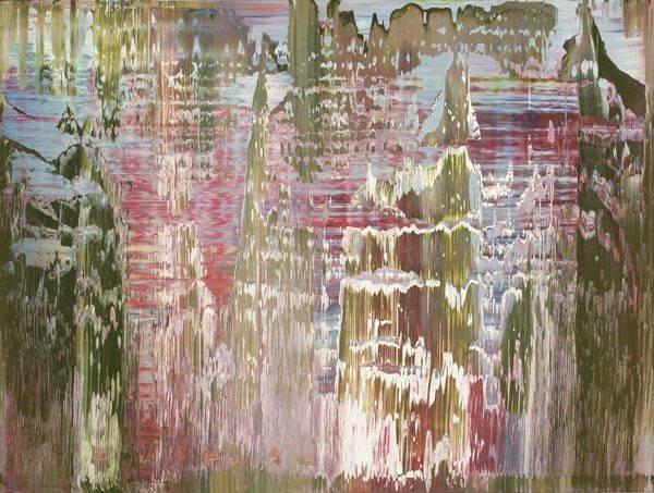 Gerhard Richter-Abstraktes Bild 829-6 (Abstract Painting 829-6)-1995