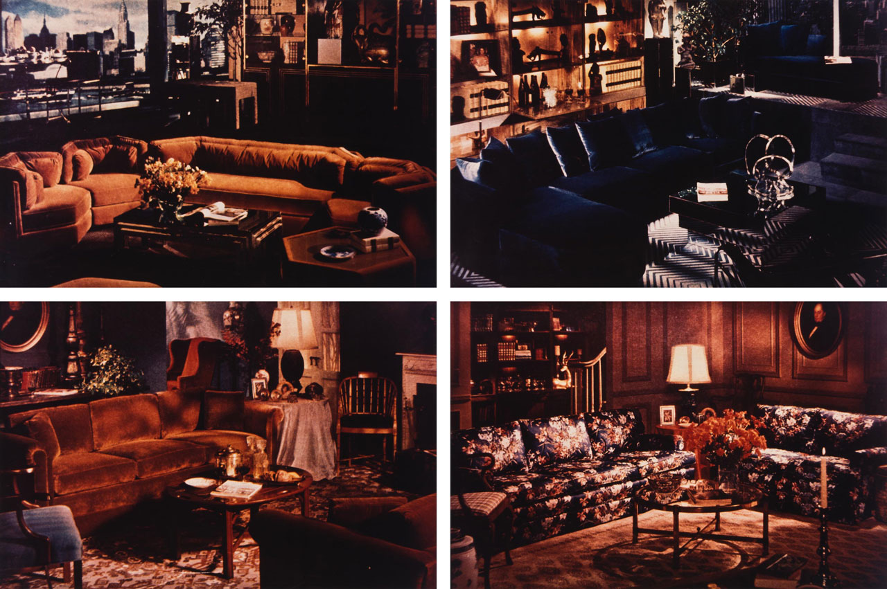 Richard Prince-Living Rooms-1977