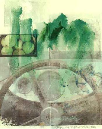 Robert Rauschenberg-Robert Rauschenberg - Untitled-1986