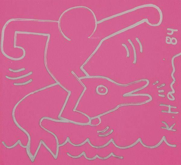 Keith Haring-Keith Haring - Untitled-1984