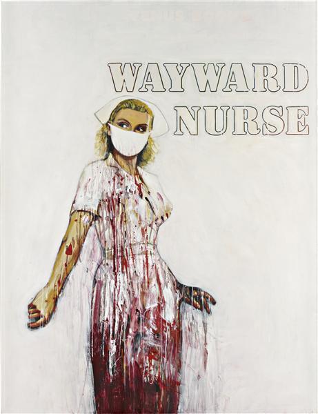 Richard Prince-Wayward Nurse (Crashed)-2010