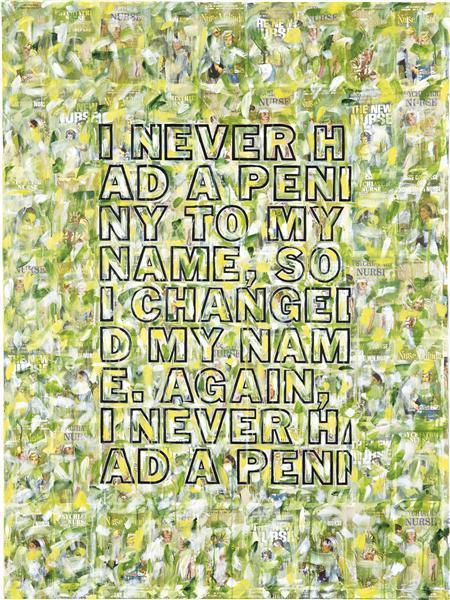 Richard Prince-Untitled Joke Painting-2009
