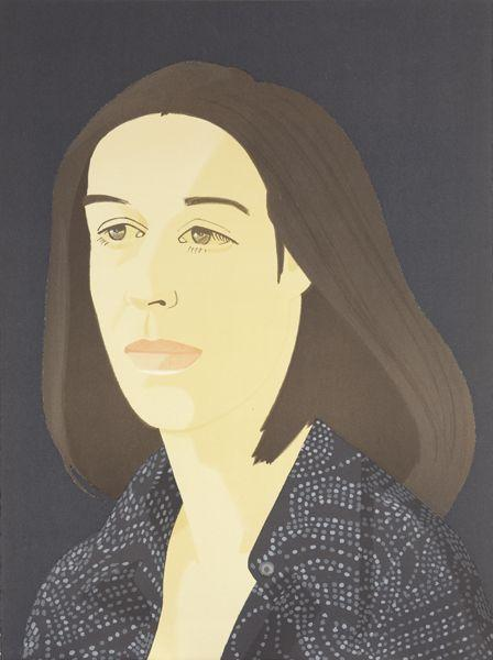 Alex Katz-Ada Four Times: One Plate-1980