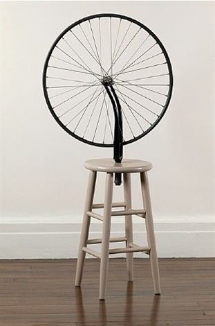 Marcel Duchamp-Roue de bicyclette (Bicycle wheel)-1964