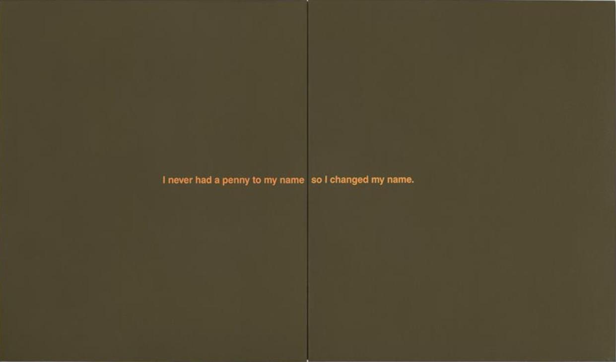 Richard Prince-My Name-1987