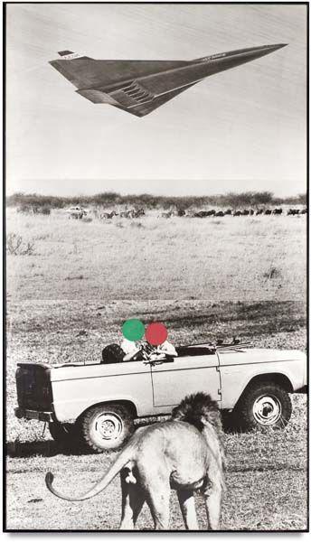 John Baldessari-Lion Jet Truck-1988