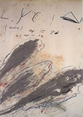 Cy Twombly-Lycian-1982