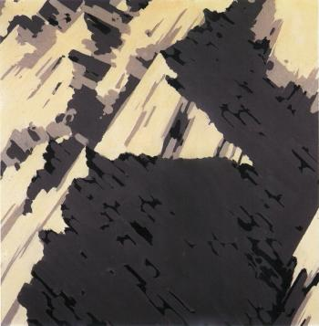 Gerhard Richter-Schweizer Alpen (Swiss Alps)-1969