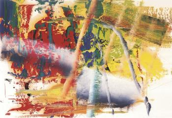 Gerhard Richter-Ohne Titel (12.3.86) / Untitled (12.3.86)-1986