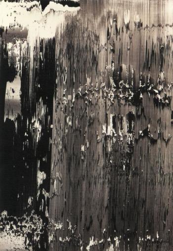 Gerhard Richter-Uran (Uranium) / Paint peeling-1989