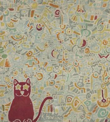 Keith Haring-Keith Haring - Untitled-1977