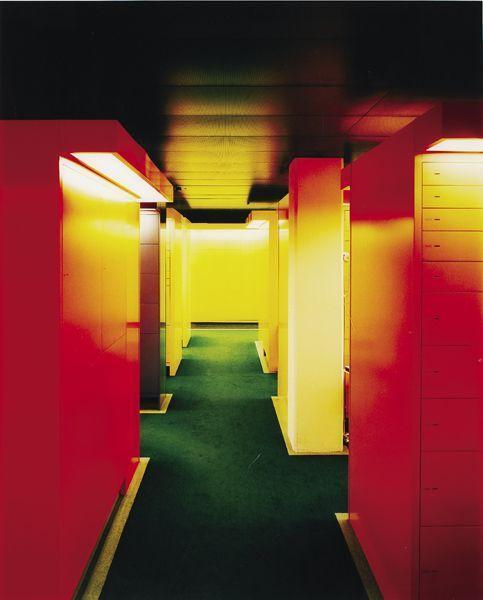 Andreas Gursky-Zurich Bankproject no. 8-1997