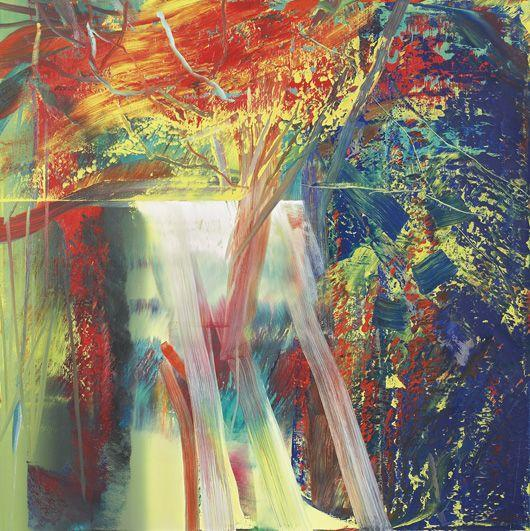 Gerhard Richter-Abstraktes Bild 610-1 (Abstract painting 610-1)-1986