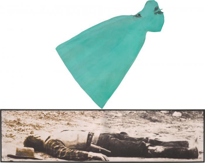 John Baldessari-Green Gown (Death)-1989
