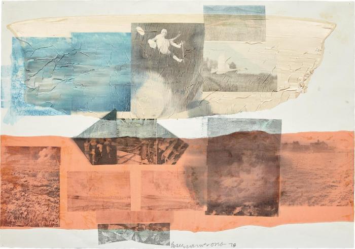 Robert Rauschenberg-Robert Rauschenberg - Untitled-1978