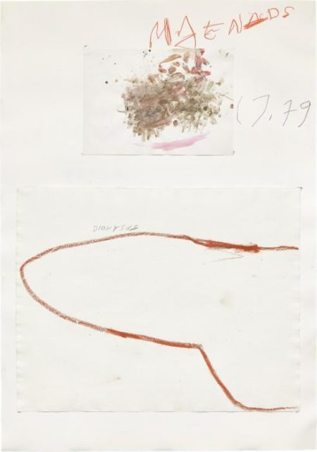 Cy Twombly-Dionysus-1979